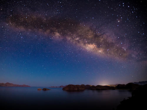 Sea of Cortez Milkyway rise